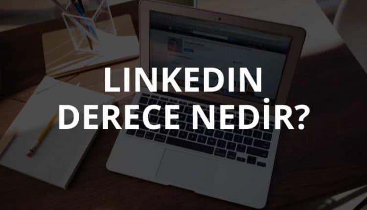 Linkedin Derece Nedir